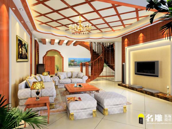 东南亚风情客厅
