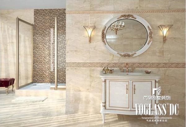 别墅 新中式 白领 卫生间 卫生间图片来自北京别墅装修案例在不一样的图片