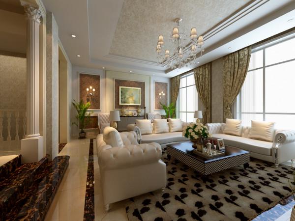 北别墅装修简约欧式设计方案