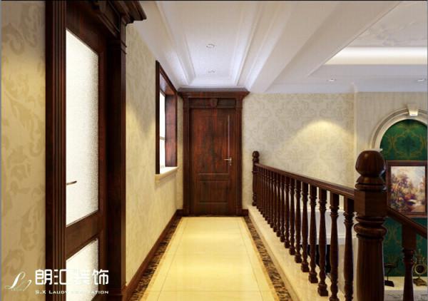 【金泰丝路花城】古典欧式风格二楼过道效果图赏析