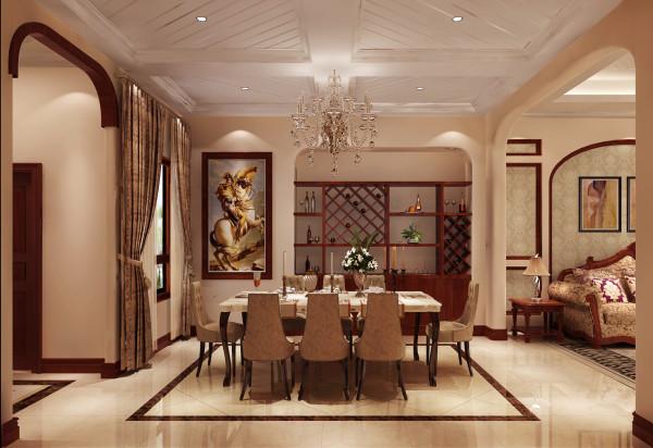 餐厅设计高贵奢华