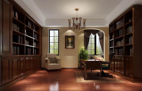 书房设计以沉稳的色彩为佳,安静的书房空间更能让人潜心阅读,感受不到喧哗与纷争。托斯卡纳风格的装修设计就是大胆的采用色彩,夸张的设计手法总能让人眼前一亮,然而当它遇到了书房,一切都发生了变化。