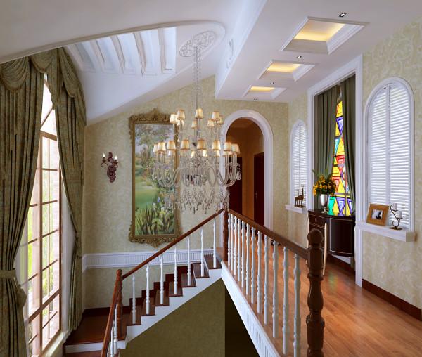 独栋别墅楼梯
