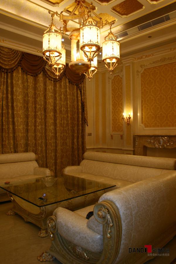 名雕丹迪设计-宏发领域别墅-欧式风格客厅