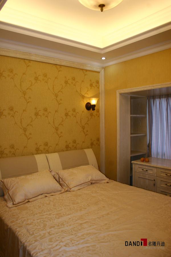 名雕丹迪设计-宏发领域别墅-欧式风格卧室
