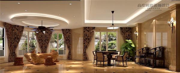 休闲室效果图:休闲室既可以作为日常品茶和进行其他娱乐项目场所。