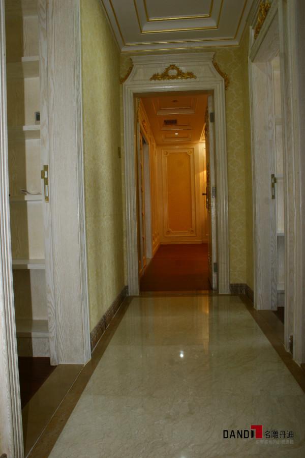 名雕丹迪设计-宏发领域别墅-欧式风格过道