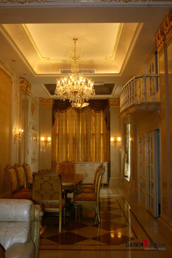 名雕丹迪设计-宏发领域别墅-欧式风格餐厅