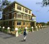 500平米美式风格别墅装修效果图