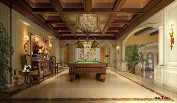 名雕丹迪设计-兰乔圣菲别墅——欧式古典