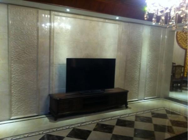 房间里电视背景墙