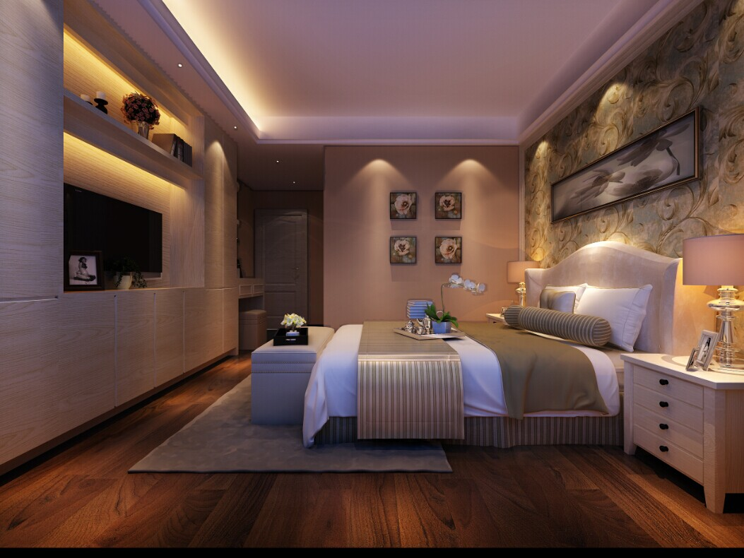 背景墙 房间 家居 起居室 设计 卧室 卧室装修 现代 装修 1053_790图片