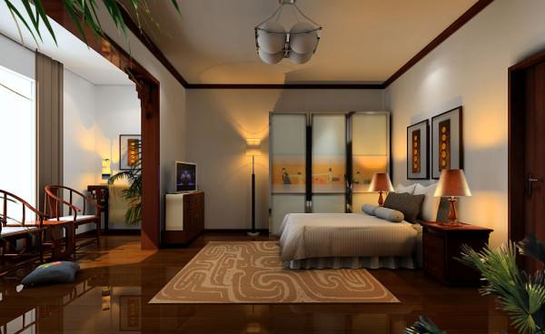 主卧室:主卧的整整一大排柜子很实用,有足够的储物空间