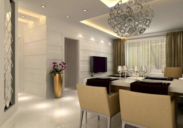 12.8万打造90平米两居室现代简约风格