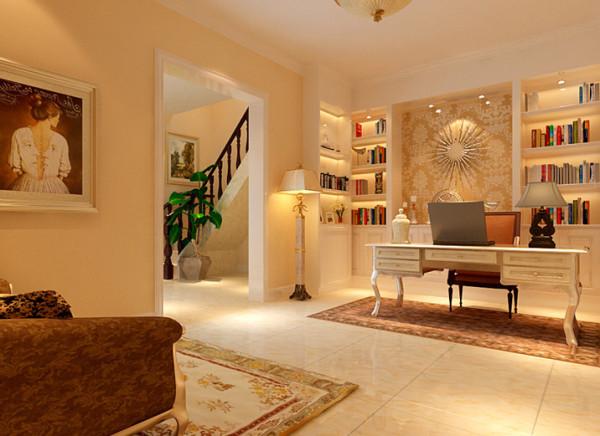 风格以华丽的装饰、浓烈的色彩、精美的造型达到雍容华贵的装饰效果。