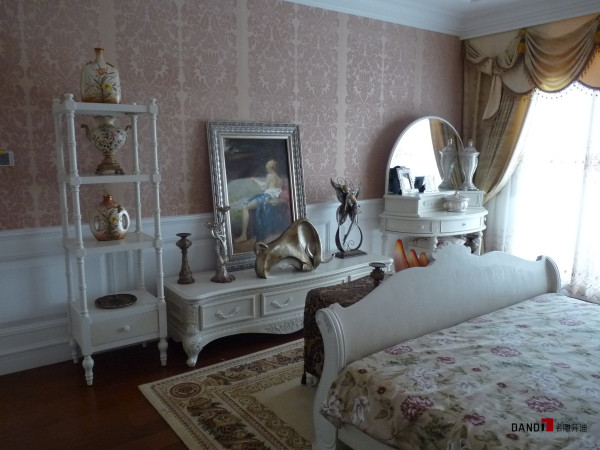 名雕丹迪设计-星洲湾别墅-欧式风格卧室
