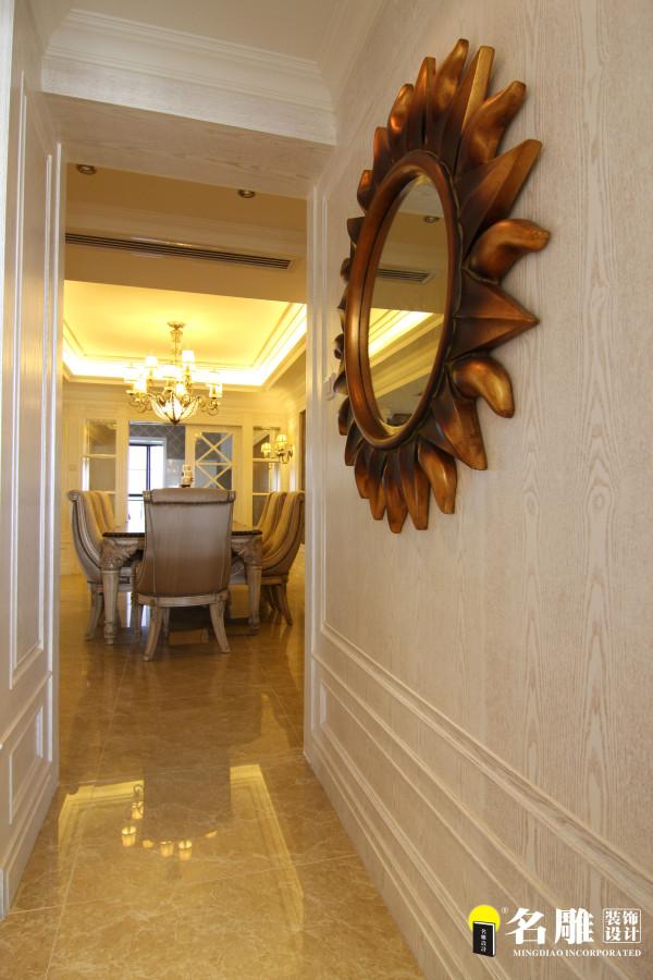名雕装饰设计-中信红树湾三居-欧式过道