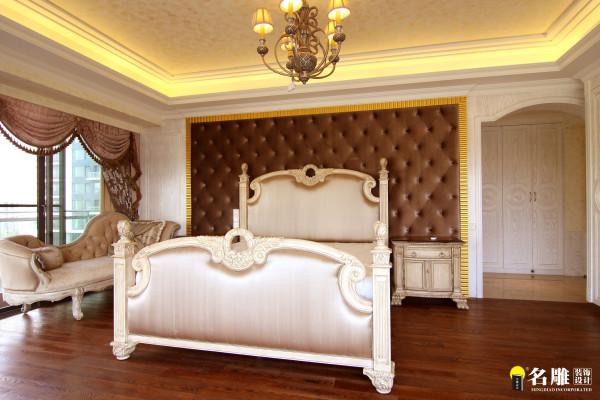 名雕装饰设计-中信红树湾三居-欧式卧室