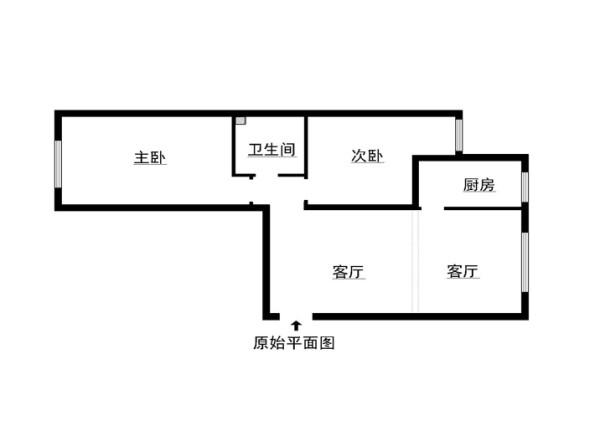 军区四干所108平米原始户型图
