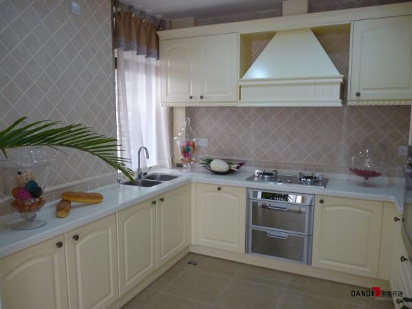 名雕丹迪设计-星洲湾别墅-欧式风格厨房