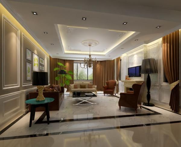 北京别墅装 保利垄上欧式奢华豪宅设计