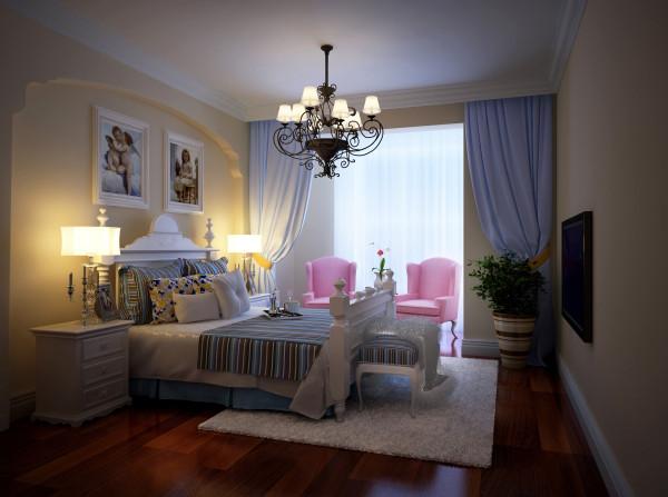 卧室作为业主休憩的场所,已不再需要过多的装饰,浅色、大地色的运用让它回归至身心放松的圣地。亮点:大面积的落地窗配上素白的纱帘,轻巧浪漫,绝佳的采光让卧室中的下午茶时光更加惬意美好。
