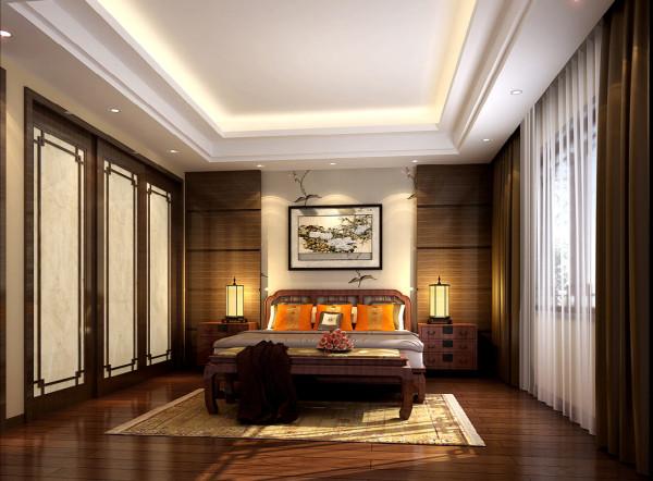 卧室的设计简洁明了干净利索