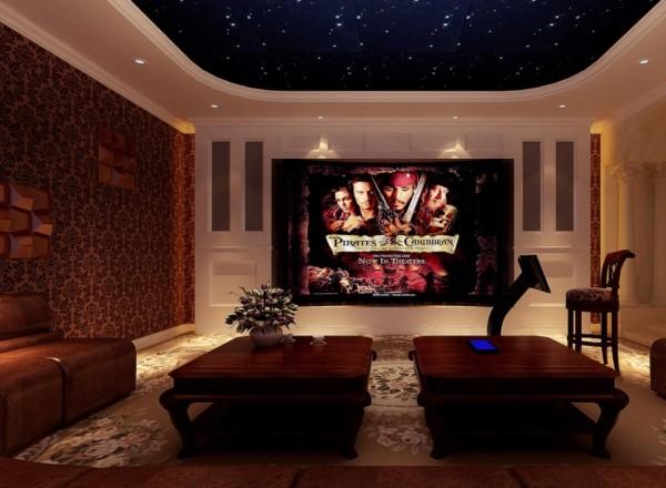 保利垄上别墅装修  浪漫美式式空间设计
