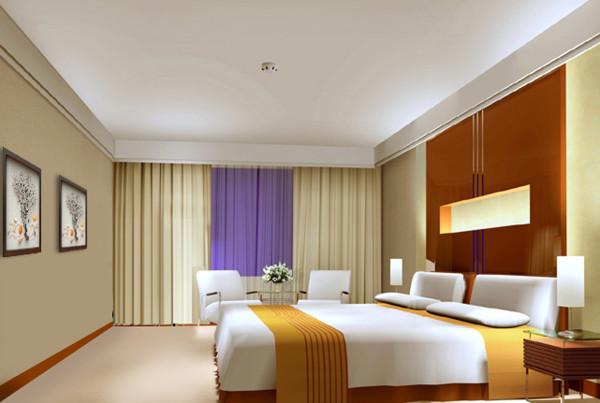成都实创装饰—现代简约风格装修参考—卧室装修效果图