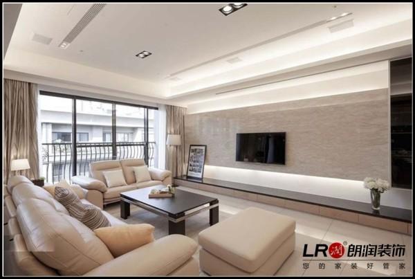 简单而舒适的电视墙设计!