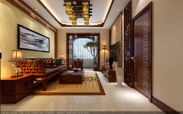 客厅是采用新中式风格,而餐厅则采用新中式加西厨效果,舒适而拥有质感的中式版型的沙发,古色古香的展示柜,配有流行陶瓷艺术品,人性同时也为空间塑造了立体感和通透性。