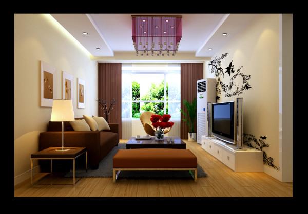 成都实创装饰—欧式风格装修参考—客厅装修效果图