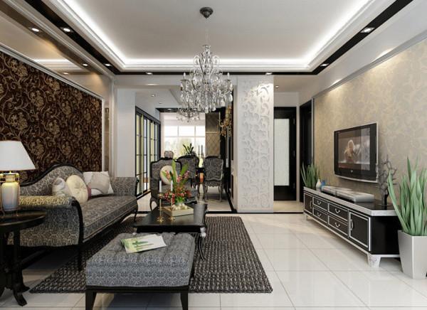 客厅简洁的线条与纯净的色彩, 是这个家居空间给我们的视觉感受。当繁杂与喧嚣充斥在周遭的时候,这样的一个明朗素雅的环境或许能给我们带来一种情感的愉悦。