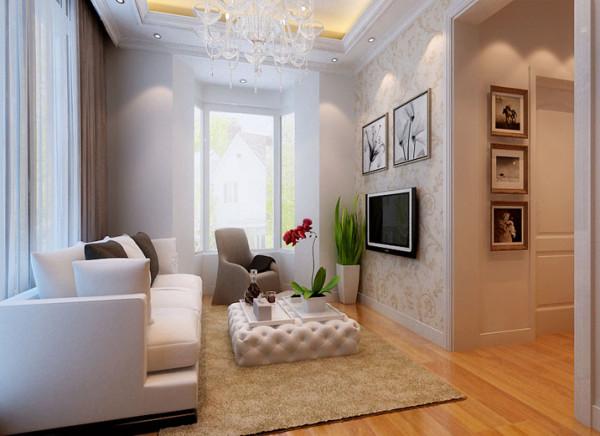 休息厅,简单的线条修饰空间中多余的结构,并且以优雅的深浅对比突出空间个性。在此,透过设计师的巧思与规划,让居家空间不仅机能满分,也展现出现代风格俐落而舒适的特质。