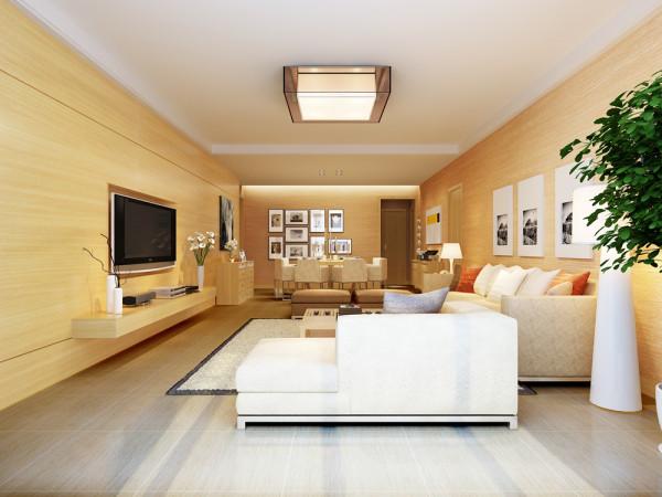 丹青府 四居室 现代简约风格室内空间设计案例
