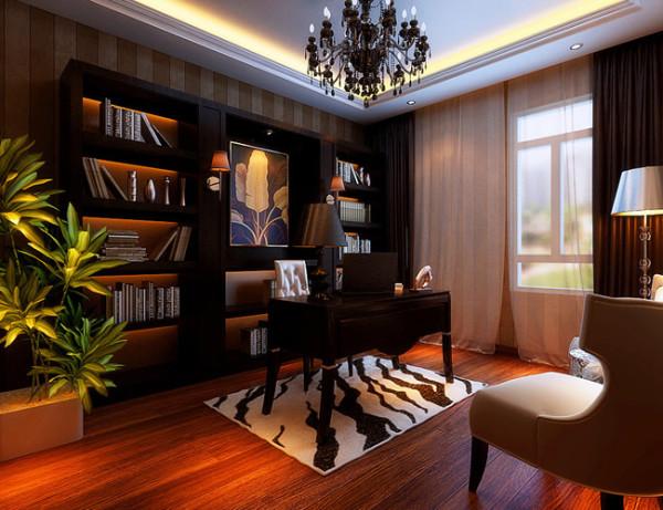 简约 欧式 书房图片来自北京世家装饰工程有限公司在盛和世纪 欧式