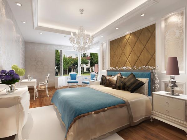 120平米欧式卧室效果图