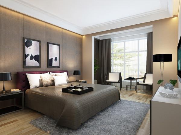 青府 四居室 现代简约风格室内空间设计案例