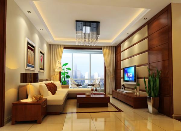 80平米中式三居装修
