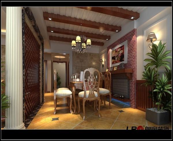 华置西锦城-二居室-87平米-餐厅装修设计