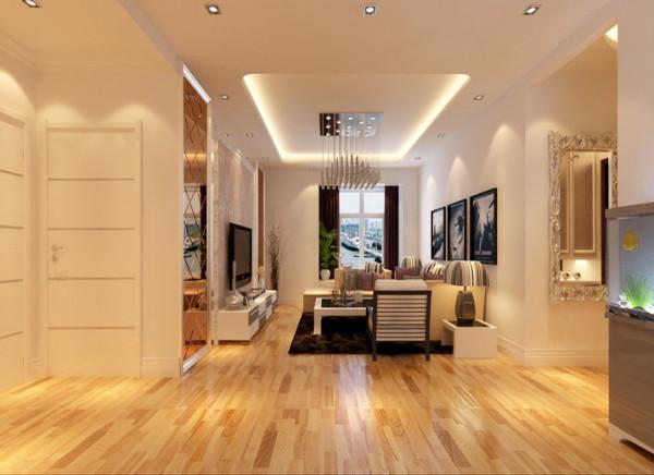 设计理念:简约的大体方向穿插点欧式元素,整体客厅看起来大气而又温馨。