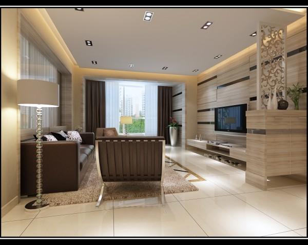 金空间装饰分享万家城客厅装修效果图