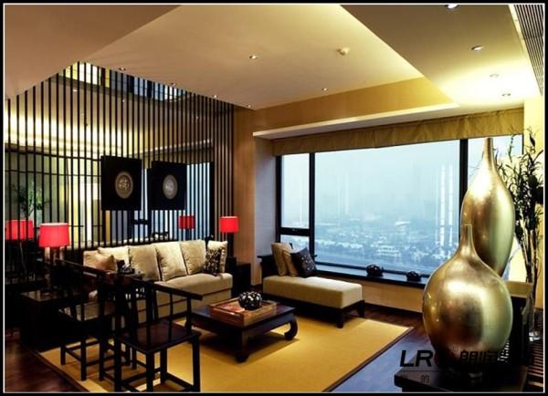 专家别墅-五居室-269平米-客厅装修设计