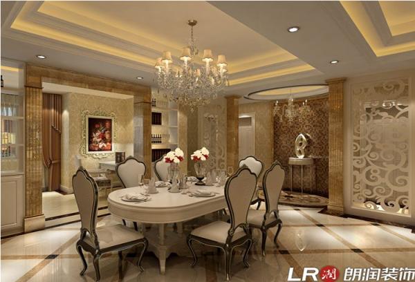 成都ICC-三居室-159平米-餐厅装修设计