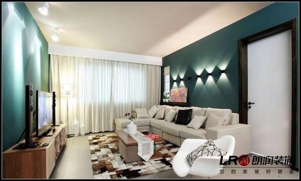 美城云庭-三居室-120.49平米-客厅装修设计