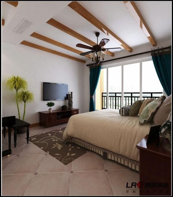 光明城市-三居室-121.88平米-卧室装修设计