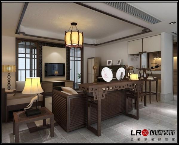 海骏达蜀都1号-二居室-111.69平米-客厅装修设计