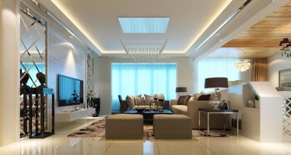 金空间装饰分享藏珑客厅装修效果图