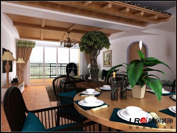 光明城市-三居室-121.88平米-餐厅装修设计