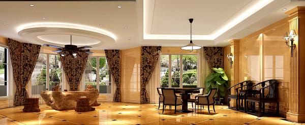 地下休闲区,此设计方案大气,华丽,各功能区齐全,色彩搭配和谐,很温馨浪漫